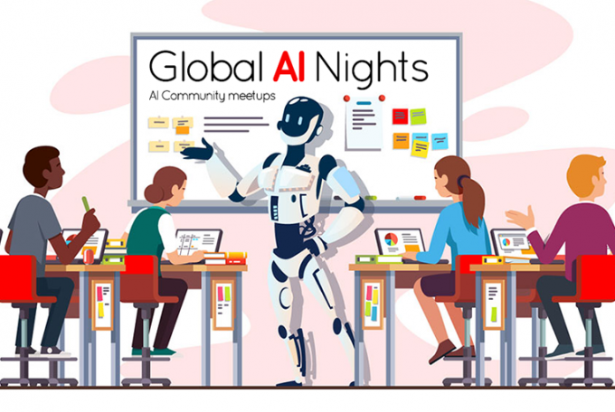 Sappience attended the Global AI Night event, hosted by Microsoft