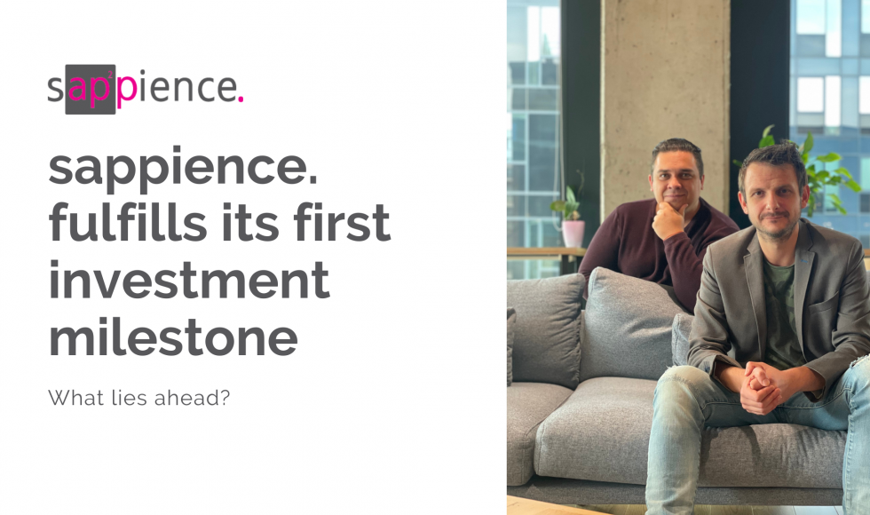 Read the success story of Sappience first venture capital investment and see what lies ahead for us, Asset Insider, and Digital Twins Management